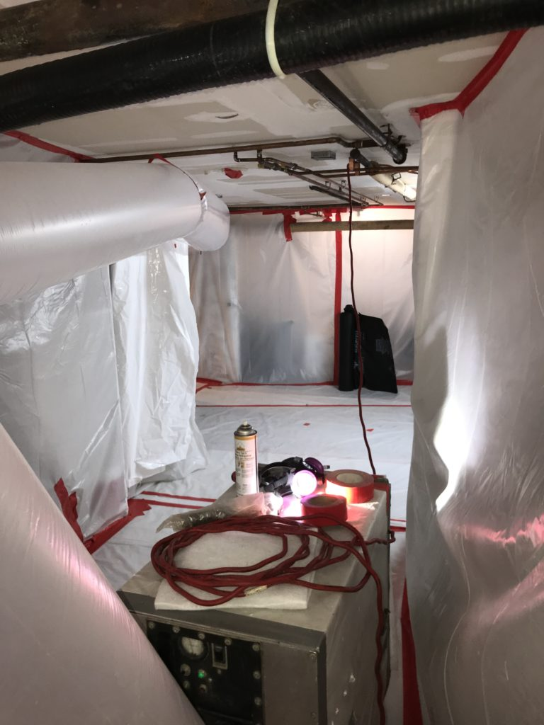 SCHOOL ASBESTOS ABATEMENT - ATLANTIC ABATEMENT CORP