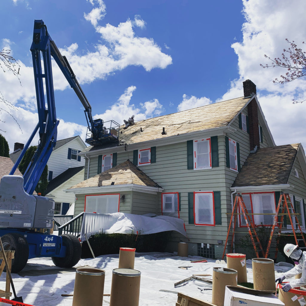 Asbestos Roof Abatement Providence,RI
