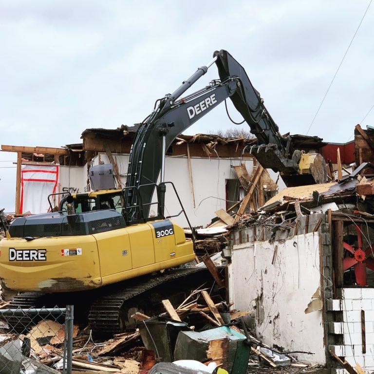 DemolitionOfBuildingProvidenceRI